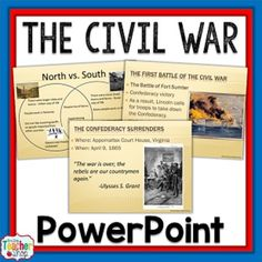 Civil War PowerPoint Presentation - Causes to End }  100%