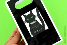 Printable Halloween Party Decorations - Black Cat Party     Meow!!! Black cats  have always been synonymous with Halloween . I think ...