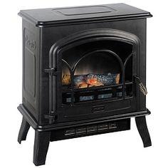 Black Electric Stove Heater