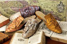 The Rubelli Stripes Low Heel Styles http://store.leschaussonsdelabelle.com