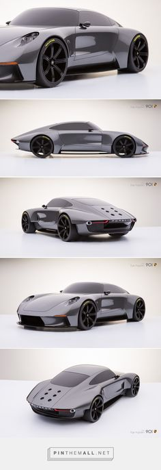 This Retro Inspired Concept Might be the Most Beautiful Porsche Ever! - created via http://pinthemall.net Futuristic Cars, Porsche Cars, Sweet Cars, Exotic Cars, Car Car, Concept Cars, Hot Cars, Retro, Future Car