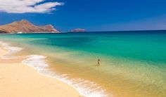 Porto Santo, #Madeira Islands 9 km #beach #Portugal