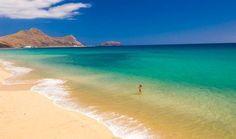 Porto Santo, #Madeira Islands 9 km #beach #Portugal