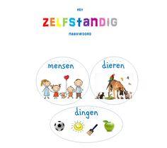 poster zelfstandig naamwoord Dutch Language, Back 2 School, School Posters, Creative Teaching, Home Schooling, Foreign Languages, Speech And Language, Kids Learning, Homeschool