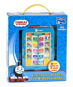 Love this Thomas & Friends Eight-Book Library Me Reader on #zulily! #zulilyfinds