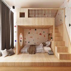Room Design Bedroom, Kids Room Design, Girls Bedroom, Bedroom Decor, Wall Decor, Loft Bedrooms, Kids Bedroom Designs, Decor Room, Home Decor