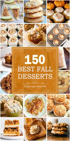 150 Best Fall Desserts: Easy-to-make Recipes – Daily Easy Recipes Fall Dessert Recipes, Köstliche Desserts, Fall Recipes, Holiday Recipes, Delicious Desserts, Yummy Food, Thanksgiving Recipes, Cobbler, Pumpkin Dessert