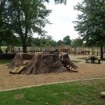 Rainbow Lake Playground in Overton Park, Memphis, TN