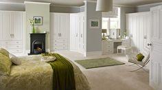 serene bedroom..