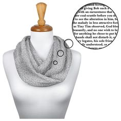 The Princess Bride Infinity Scarf from Litographs is composed entirely from the text of the beloved screenplay! The Little Prince, Little Princess, Ella Enchanted, Adventures Of Sherlock Holmes, Last Unicorn, Mrs Hudson, Cairn Terriers, Luanna, Old Clocks