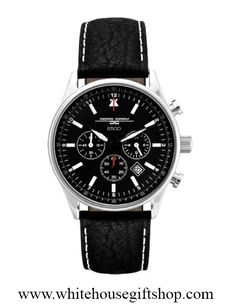 This Jorg Gray 6500 series chronograph watch was designed for Secret Service and presented as a gift to President Barack Obama by USSS agents. Includes a personalized and signed certificate of authenticity from the official White House Gift Shop.