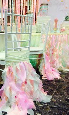 Wedding chair cover wedding chair sashfancy by FloraRosaDesign, Ft6500.00