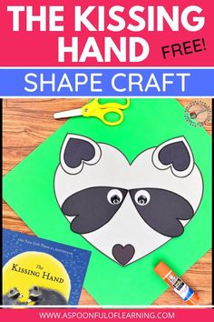 This Kissing Hand Craft is a great back to school activity that can be made on the first day of school! After reading the classic first day of school story 'The Kissing Hand', make a craft out of hearts! Students get to use different sized hearts to make Chester the raccoon! Included are directions and templates to make this craft. Have your students bring home this Kissing Hand craft as a gift for their family to let them know how much they were thinking of them!