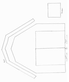Animals Crafts - Print your Barn Template at AllKidsNetwork.com
