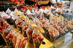 declared a Bien de Interés Cultural (site of cultural interest) by the Ministry of Culture in Spain Chorizo, Market Stalls, Cool Store, Food Photo, Street Food, Allrecipes, Food Inspiration, Tapas, San Miguel