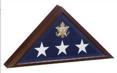 Burial flag box, Flag Frame, American flag display case, Best casket flag case