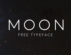 Moon Free Typeface