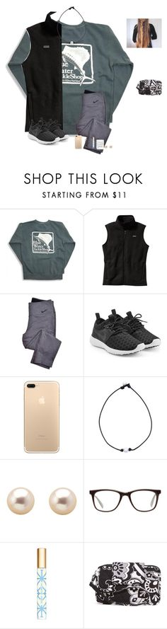 """""""Happy December 1st!"""" by raquate1232 ❤ liked on Polyvore featuring Patagonia, NIKE, GlassesUSA, Tory Burch and Vera Bradley"""