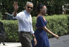 The Obamas Are Back from Vacation and Settling into Their Rented D.C. Home
