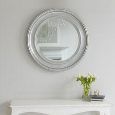 New England Mirror - Silver