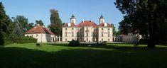 Pałac w Otwocku Wielkim od strony ogrodu