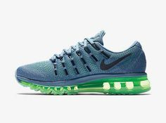 the best attitude b301a 94d61 Find Air Max 2016 Nike Women Running Shoes Blue Grey Green Christmas Deals  online or in Pumafenty. Shop Top Brands and the latest styles Air Max 2016  Nike ...