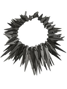 MONIES Spiked necklace, ht