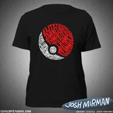 A Wordy Badge Pokeball T-Shirt