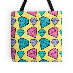 #Diamonds and #Triangles #Pattern by #DragonfireGraphics