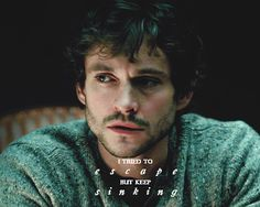 Will Graham. I tried to escape but keep sinking.
