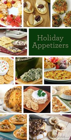 images of christmas appetizers recipes | Holiday Appetizer Recipes