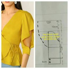 Source by wanita Dress Sewing Patterns, Blouse Patterns, Clothing Patterns, Blouse Designs, Bodice Pattern, Pattern Draping, Sleeve Pattern, Sewing Blouses, Sleeves Designs For Dresses