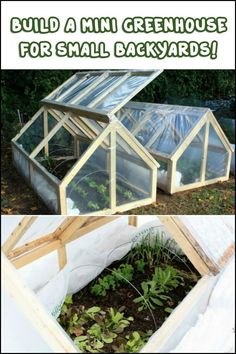 This homemade greenhouse is perfect for those with small yards. It's very easy to build, inexpensive, and easy to install. Is this the greenhouse for you?