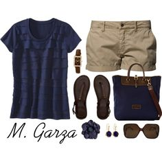 Day at the Park by maria-garza on Polyvore