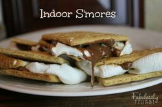 Love to bake ups smores in the oven durning the winter when I am missing summer. #superbowlfood