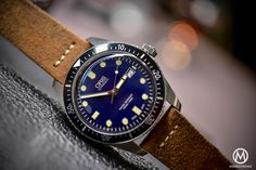 Oris Divers Sixty Five 42mm Blue Dial - Baselworld 2016 - 3