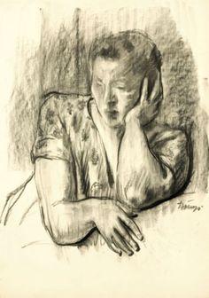 Artist István Szőnyi Artist, Painting, Painting Art, Paintings, Painted Canvas, Drawings, Artists