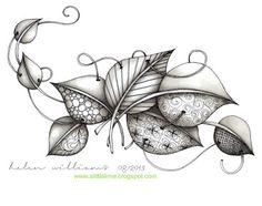 Resultado de imagem para 78 best images about zentangle pog Zentangle Drawings, Doodles Zentangles, Zentangle Patterns, Doodle Drawings, Doodle Art, Tangle Doodle, Tangle Art, Art Tumblr, Doodle Inspiration