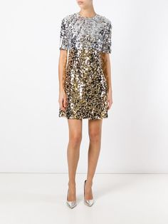 Dolce & Gabbana Sequined Dress $1,737 (previously $2,895)