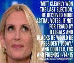 There is stupid, more stupid, and then there's Ann Coulter!