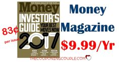 RARE DEAL! Money Magazine is only $9.99/year! Only $0.83 per issue! Grab this magazine now while the price is down!  Click the link below to get all of the details ► http://www.thecouponingcouple.com/money-magazine-only-9-99-per-year-two-days-only/ #Coupons #Couponing #CouponCommunity  Visit us at http://www.thecouponingcouple.com for more great posts!