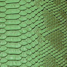 Green Faux Viper Sopythana Snake Skin Vinyl Fabric - Sold By The Yard - Python Snake, Synthetic Resin, Snake Patterns, Snake Skin Pattern, Animal Patterns, Vinyl Fabric, Viper, Fashion Fabric, Fabric Swatches