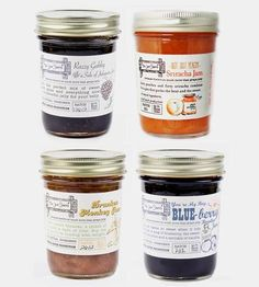 Boozy Jam Assortment - Set of 4  by The Jam Stand on Scoutmob Shoppe