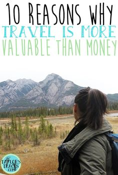 Money doesn't control everything and most certainly shouldn't control your happiness. Let travel give you experiences that will benefit you more than money.
