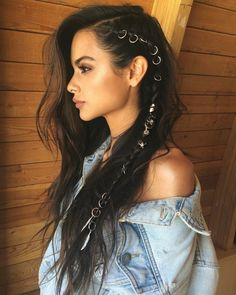 Hairstyles that men find irresistible – love hair – Hair Style Braided Hairstyles, Cool Hairstyles, Pirate Hairstyles, Summer Hairstyles, Bohemian Hairstyles, Evening Hairstyles, Layered Hairstyles, Rocker Hairstyles, Festival Hairstyles