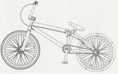 bmx drawings - Google Search