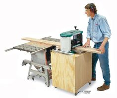 Double-Duty Planer Stand | Popular Woodworking Magazine