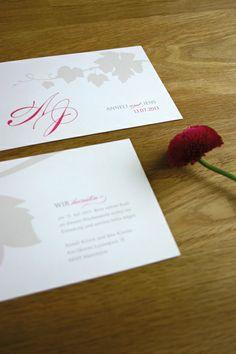 wedding save the date card wine / save the date karte hochzeit auf dem weingut