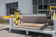 CNC 4-Axis Stone Granite and Marble Cutting and Polishing Machine