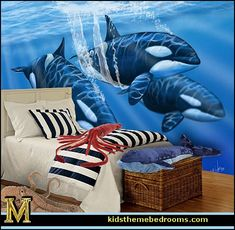 Decorating theme bedrooms - Maries Manor: whale theme bedroom ...